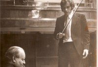 Kolundžija and David Oistrakh