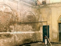 Izgled dvorišta pre rekonstrukcije